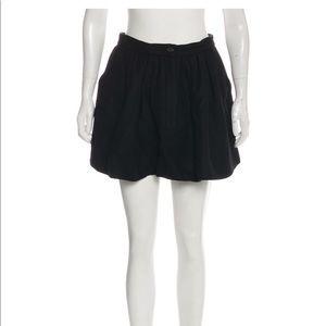 MIU MIU Virgin Wool Mini Skirt